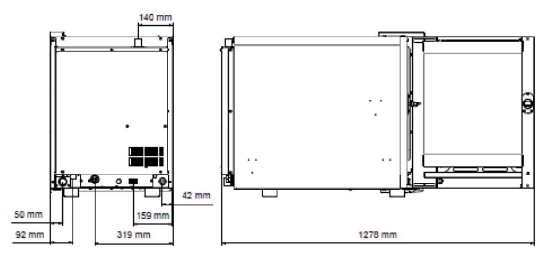Lò Hấm Nướng Đa Năng EKA, EKF 611 CTC-thiết bị bếp công nghiệp âu á CT2