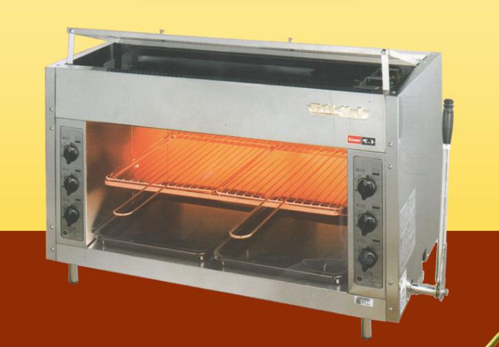 Lò nướng bánh công nghiệp tại âu á