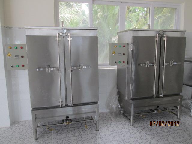 Địa chỉ cung cấp tủ nấu cơm công nghiệp 100kg