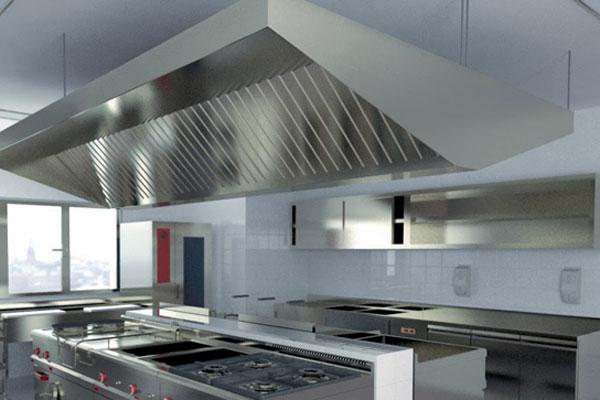 Hệ thống hút mùi dành cho các bếp công nghiệp hiện đại