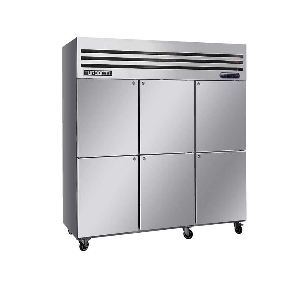 Tủ Lạnh 6 Cánh Đứng Turbocool