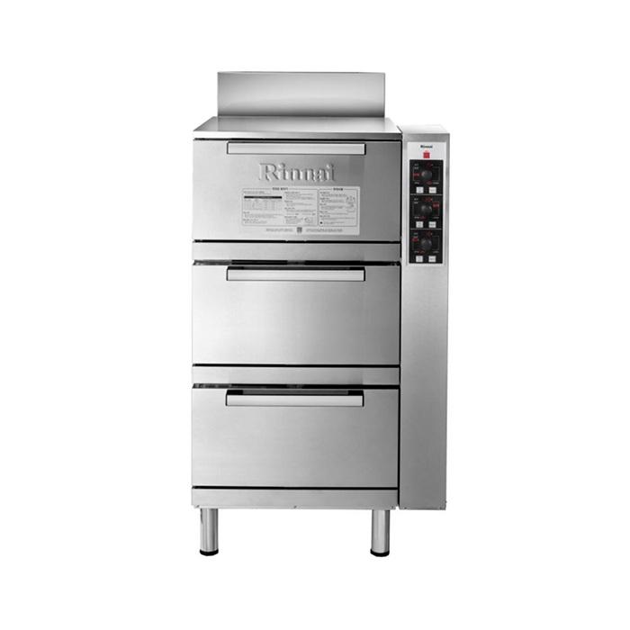 Tủ nấu cơmRRA-156 bằng gas tự động 3 tầng
