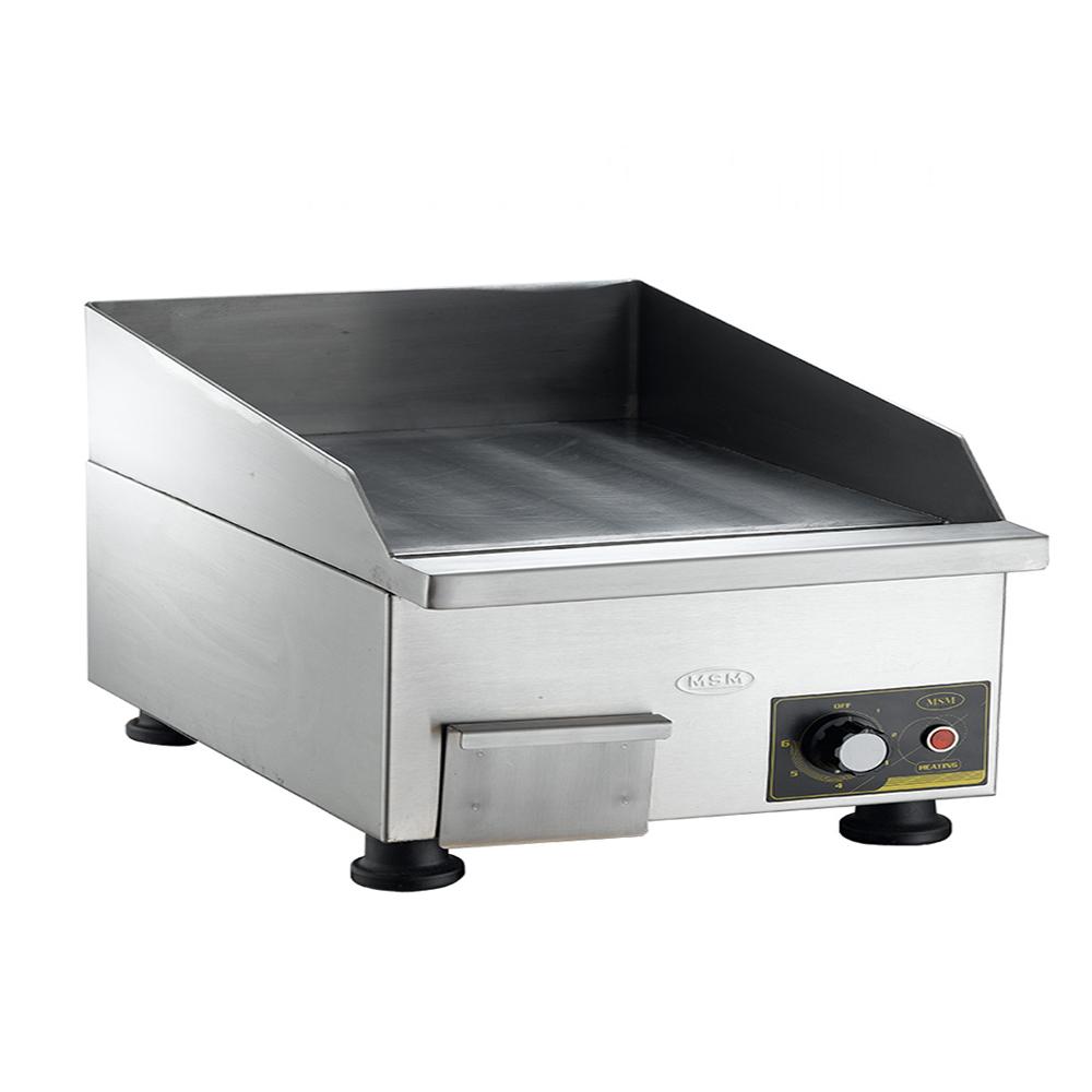 Bếp Chiên Phẳng Điện MSM - HP-6000, Bếp chiên phẳng, bếp chiên bề mặt, bếp chiên cho nhà hàng bếp chiên phẳng dùng điện tốc độ chiên nhanh dể sử dụng tiện