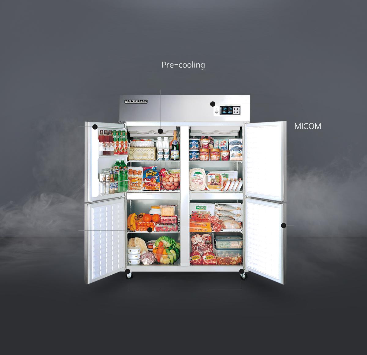 Bàn lạnh Modelux, Bàn mát Modelux, Modelux, Tủ lạnh công nghiệp, Tủ Lạnh Modelux, Tủ lạnh công nghiệp, Tủ mát công nghiệp, Tủ đông công nghiệp, Tủ Modelux
