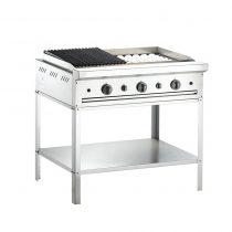 Bếp Nướng Than Đá 3 Họng, Bếp Nướng Than Nhân Tạo MSM ,nướng than đá, bếp nướng than công nghiệp, bếp nướng cho nhà hàng, Bếp nướng cho nhà hàng