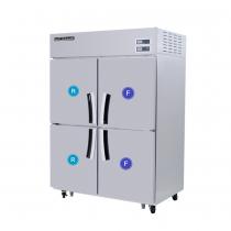 Tủ Đông Mát 4 Cánh Modelux - MDS-1040RF1, Tủ đông mát 4 cánh, tủ 2 đông 2 mát , tủ lạnh 4 cánh modelux, tủ lạnh cho khu bếp, tủ đông mát cho nhà hàng
