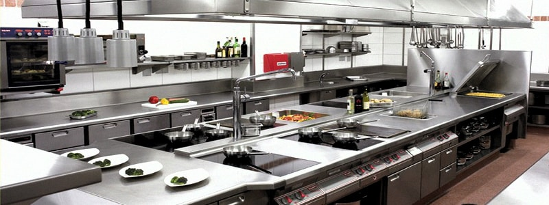 Thi công bếp nhà hàng TP HCM