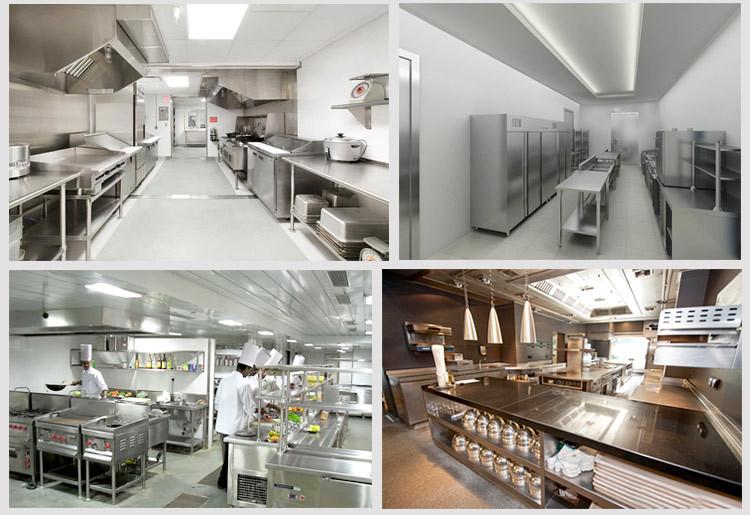 Thi công bếp nhà hàng tai TP HCM