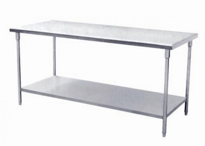 Bàn inox 2 tầng công nghiệp, Bàn 2 tầng, bàn inox công nghiệp, bàn 2 tầng inox, bàn 2 tầng công nghiệp, bàn inox, bàn inox cho nhà hàng, bàn inox cho sơ chế
