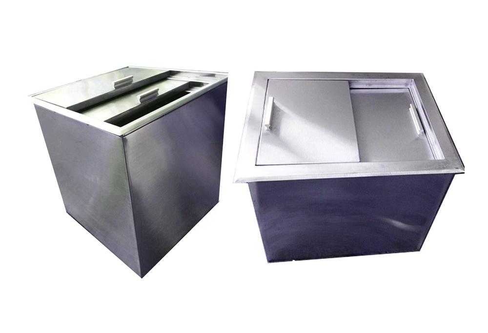 Thùng chứa đá âm bàn, thùng chứa đá, thùng đá âm bàn, thùng chứa đá inox, thùng đá âm bàn inox, thùng đá inox âm bàn, bồn chứa đá âm bàn, bồn đá âm bàn inox
