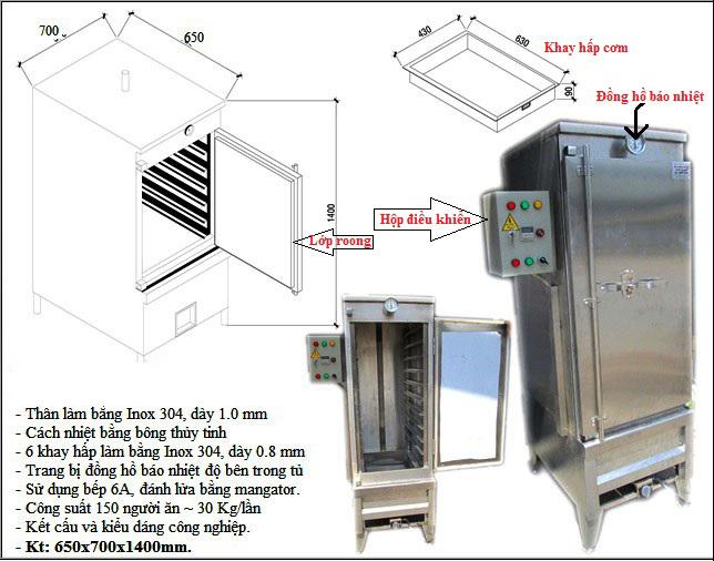 Tủ hấp cơm công nghiệp 50kg, tủ cơm công nghiệp, tủ cơm 50kg, tủ cơm công nghiệp 50kg, tủ cơm 50kg dùng gas , tủ cơm công nghiệp dùng gas, tủ hấp cơm 50kg