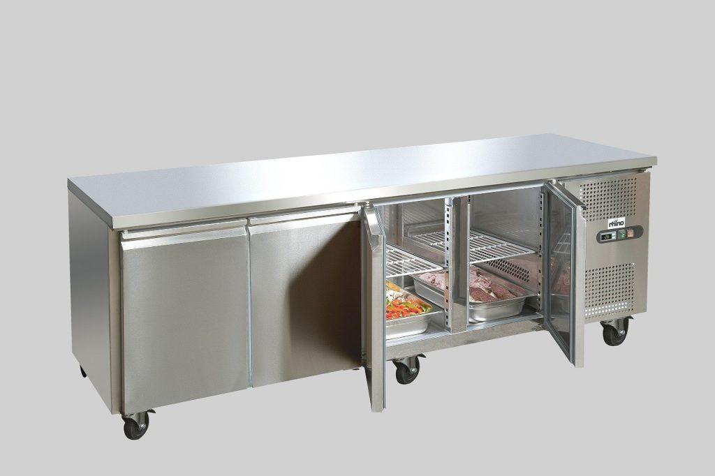 Bàn mát công nghiệp inox, bàn mát công nghiệp, bàn mát inox, bàn thớt inox, bàn mát inox cho bếp, bàn mát công nghiệp 2 cánh, bàn mát inox 2 cánh, bàn mát