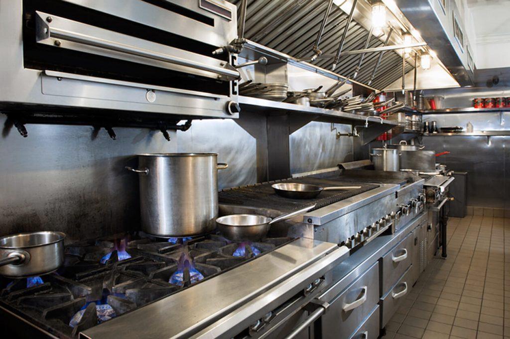 Thi công bếp nhà hàng chuyên nghiệp