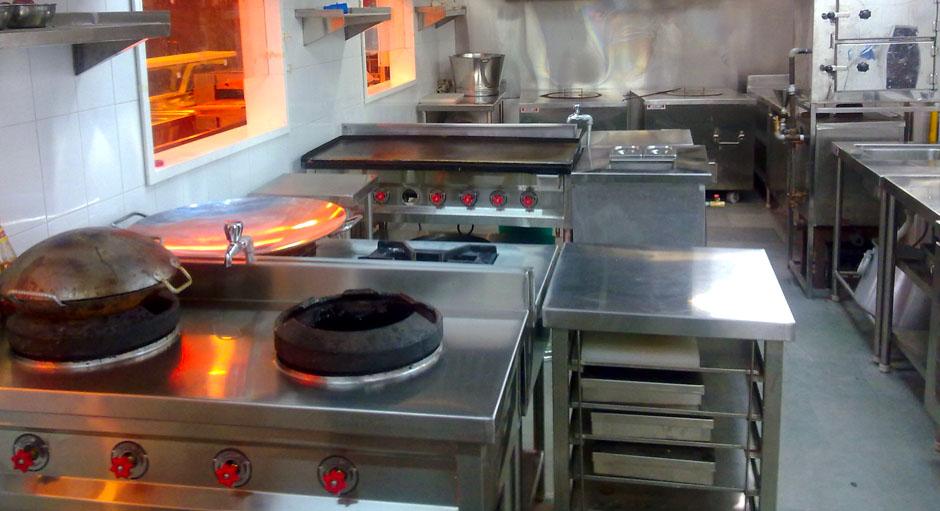 Thi công bếp nhà hàng ở Hồ Chí Minh