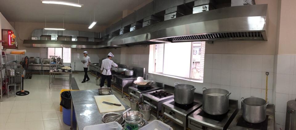 Bếp ăn công nghiệp Âu Á