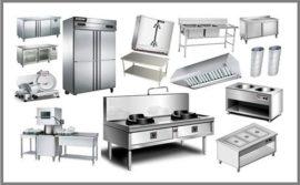 Bếp inox công nghiệp Âu á