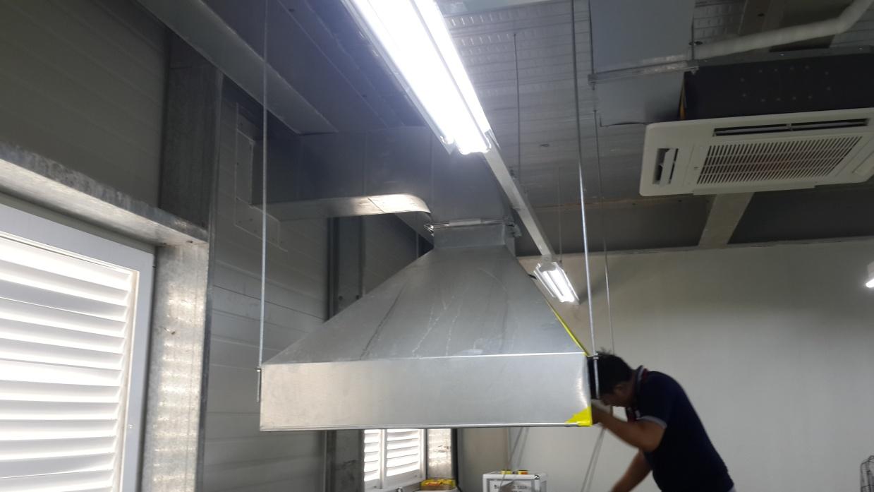Hệ thống hút khói bếp nhà hàng