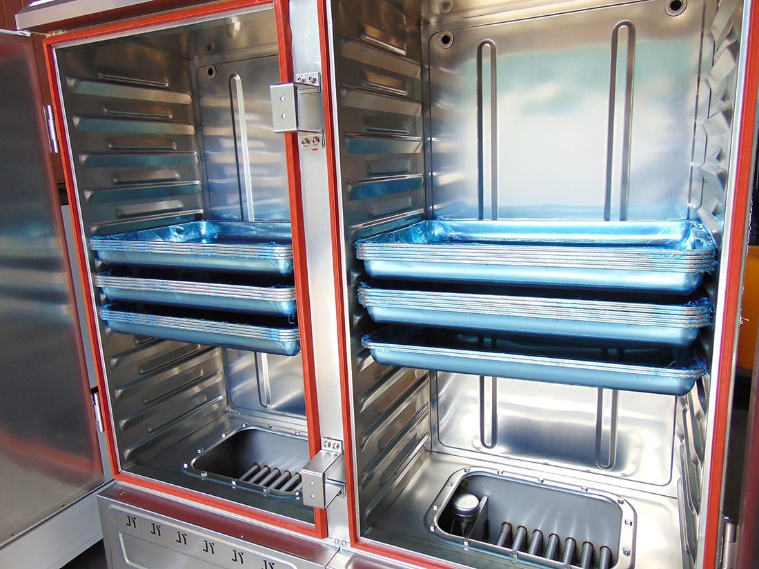 Tủ nấu cơm công nghiệp 12 khay giá rẻ tại âu á