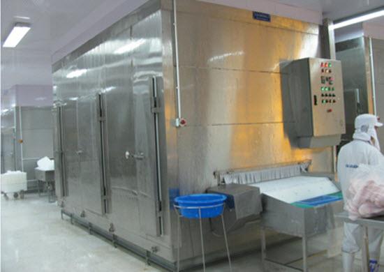 lắp kho lạnh thủy sản