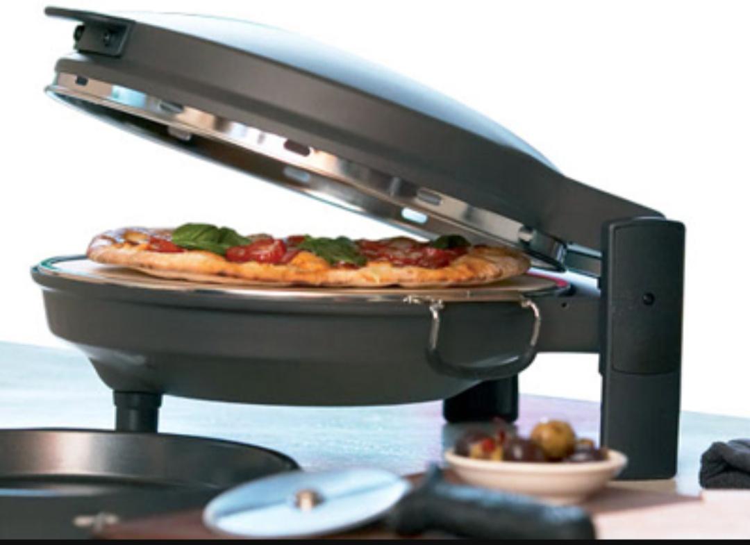 may nướng pizza