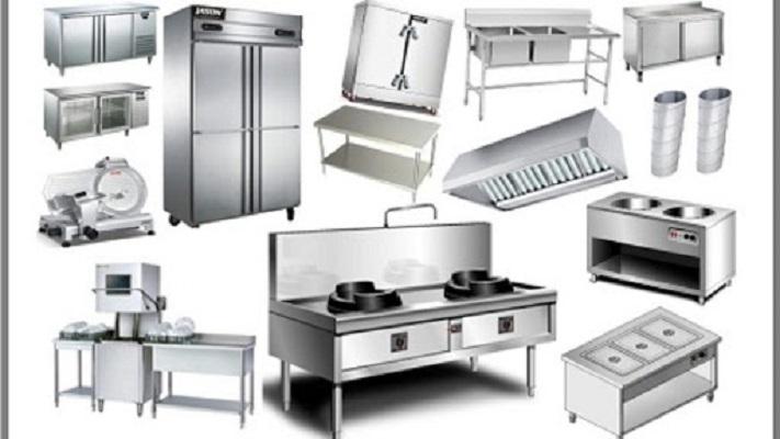 Một số thiết bị bếp công nghiệp gia công phổ biến