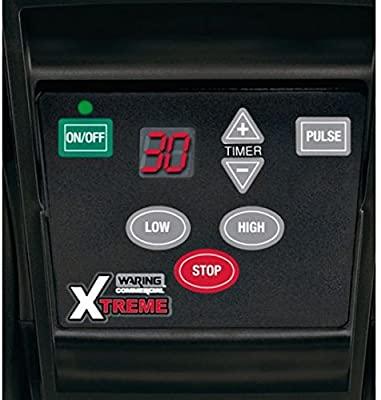 Bảng điều khiển của Máy xay sinh tố WARING MX1100XTXEE