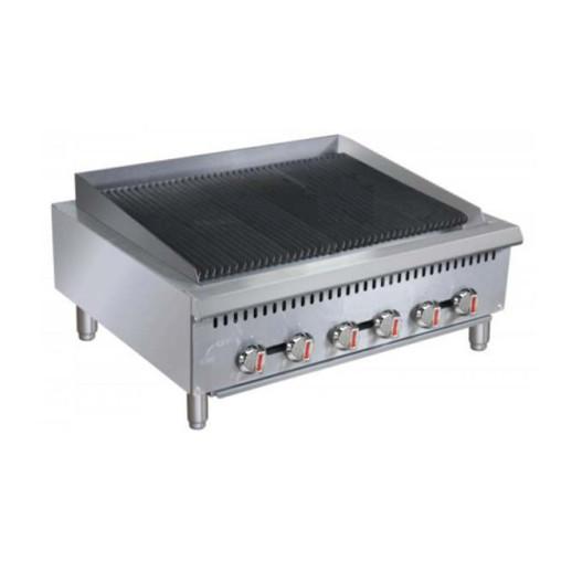Bếp nướng than đá dùng gas HDSGCBLR-48