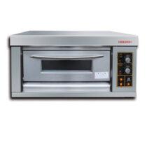 Lò nướng bánh công nghiệp dùng Gas 1 tầng Berjaya G60-1BD