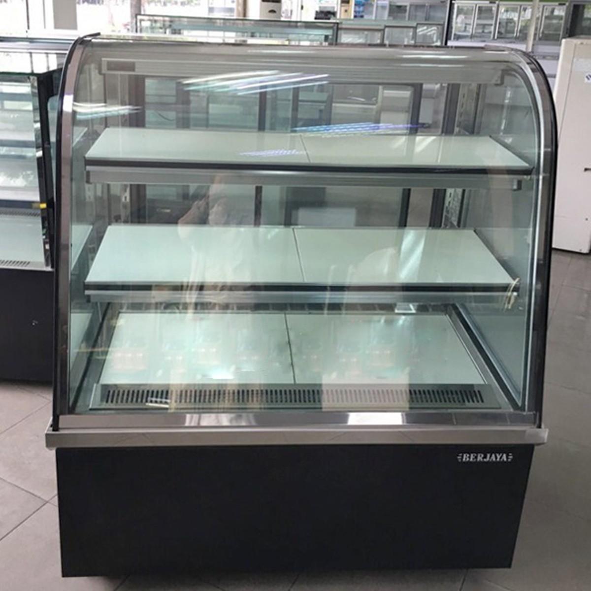 Tủ bánh ngọt trưng bày kính cong CCS09SB13-2FB Berjaya